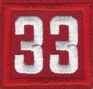 33 Unit Number